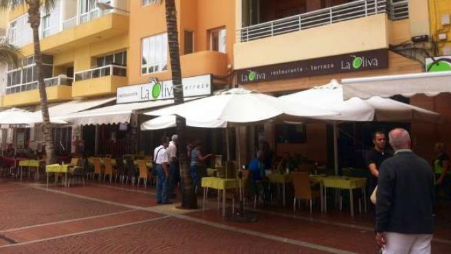 Foto de la terraza de uno de los restaurantes que participa: La Oliva