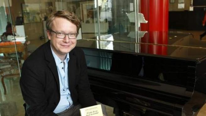 El escritor y periodista de origen polaco Adam Soboczynski.