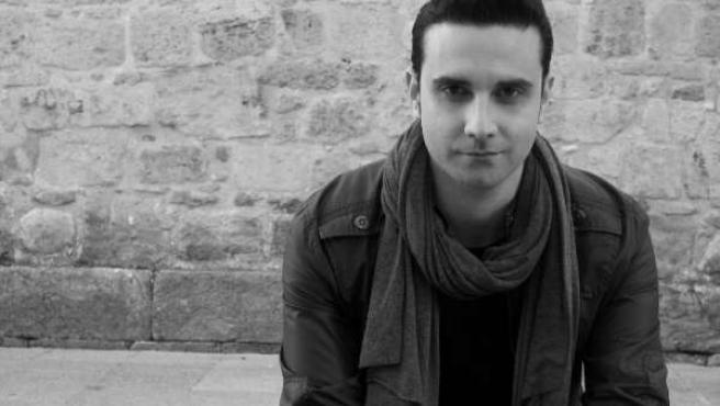 El escritor Christian Furquet