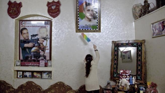"""Una de las fotos que ha indignado a los sionistas franceses muestra la casa de un palestino al que la fotógrafa considera """"mártir"""""""