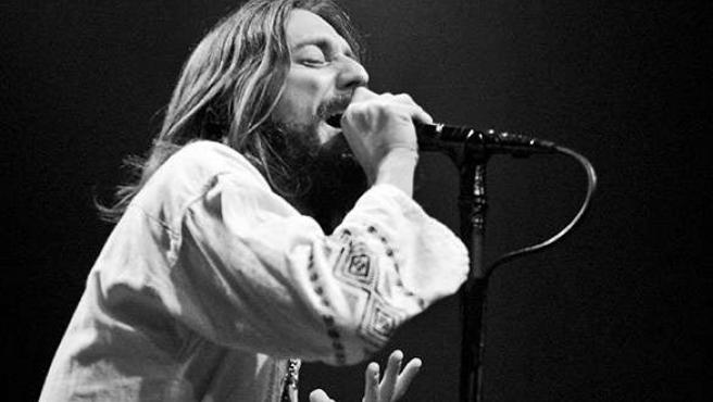 Chris Robinson, cantante de The Black Crowes