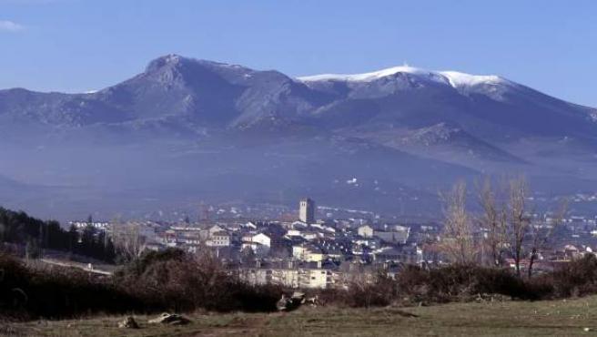 Vista de la Sierra de Guadarrama.