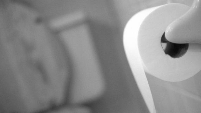 Imagen de un rollo de papel higiénico.