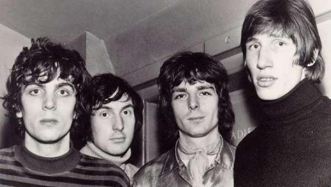 Una imagen sin fecha del cuarteto británico Pink Floyd.