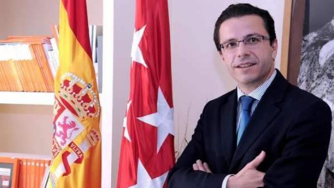 Javier Fernández-Lasquetty, consejero de Sanidad de la Comunidad de Madrid.