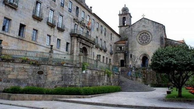 Iglesia de San Francisco, en Pontevedra.