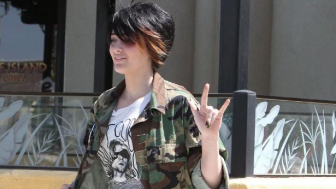 Paris Jackson en Palmdale, California, Estados Unidos, el 28 de abril de 2013.