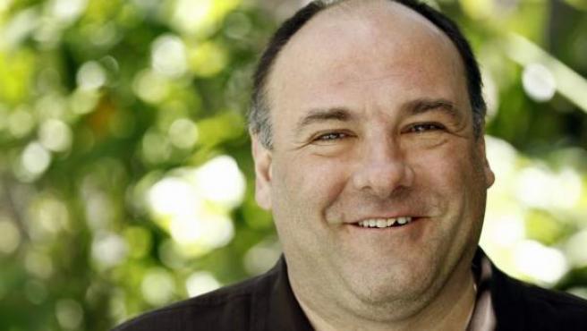 El actor James Gandolfini, quien interpretaba a Tony Soprano en 'Los Soprano'.