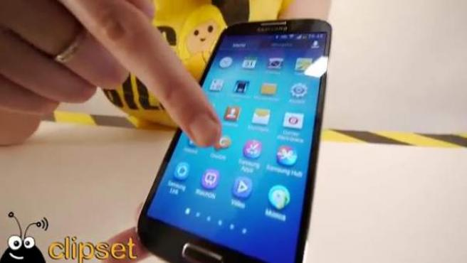 Galaxy S4 de Samsung.