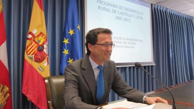 El subdesecretario del Ministerio, Jaime Haddad, tras reunirse con las OPA