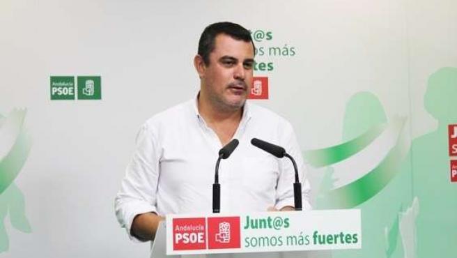 El secretario de Organización del PSOE de Huelva, Jesús Ferrera.