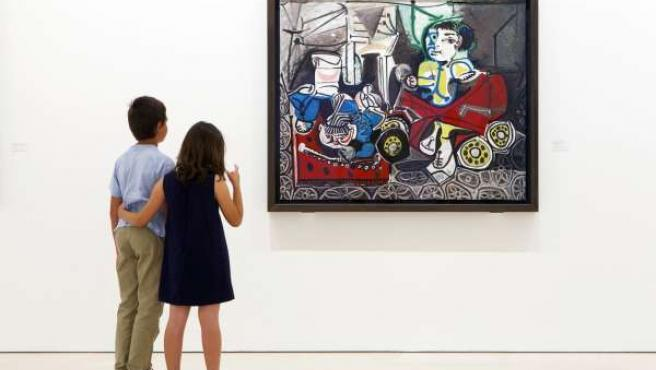 Exposicion Pablo Picasso. Album de familia junio 2013 Málaga 44 retratros y fot