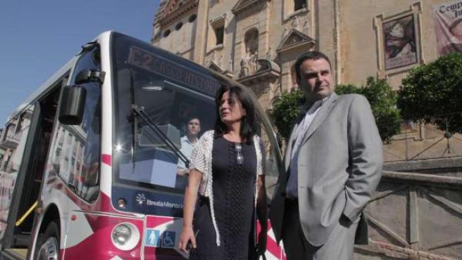 Presentación de los microbuses