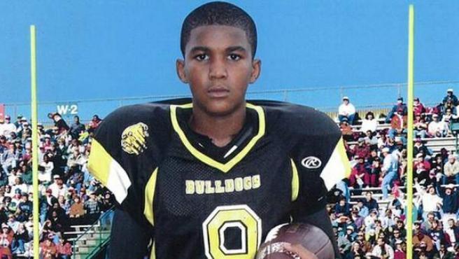 Fotografía sin fechar, de Trayvon Martin, de 17 años.