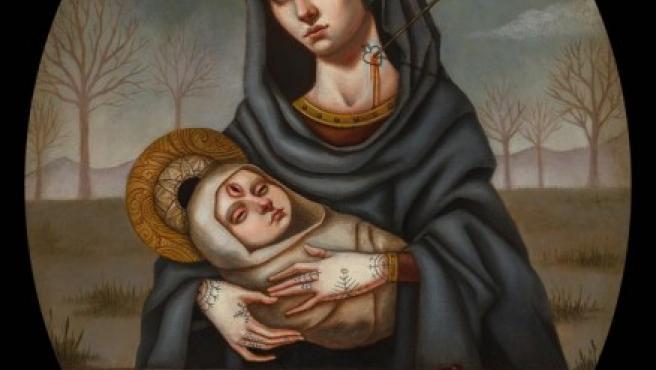 Una de las obras de Jasmine Worth de la serie 'Cultus Sanguine'