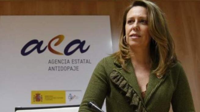Ana Muñoz, exdirectora de la Agencia Española para la Protección de la Salud en el Deporte.