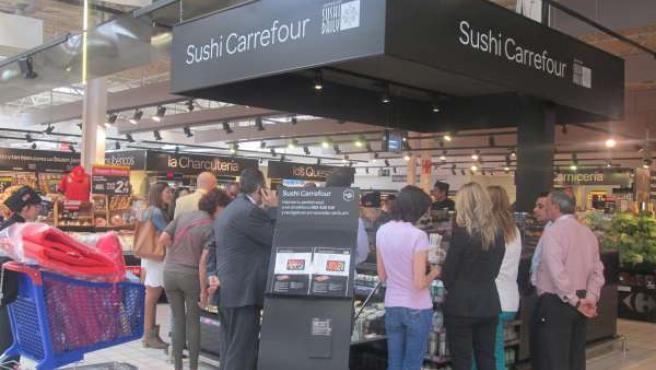 Kiosco de Sushi