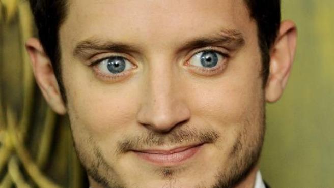 El actor Elijah Wood, en la promoción de 'El Hobbit'.
