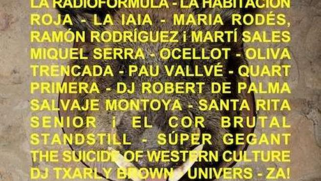 Cartel de la IX edición del festival PopArb