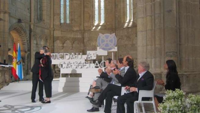 Acto de entrega de las Medallas Castelao