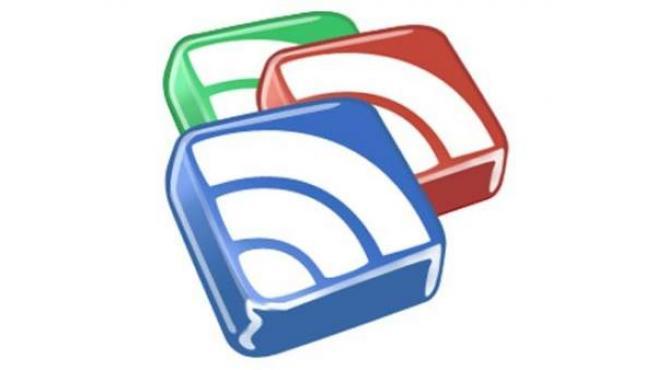 Logotipo de Google Reader.