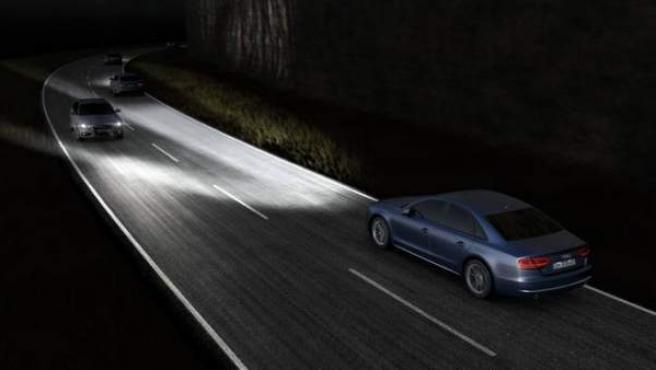 Faros Matrix LED Audi A8