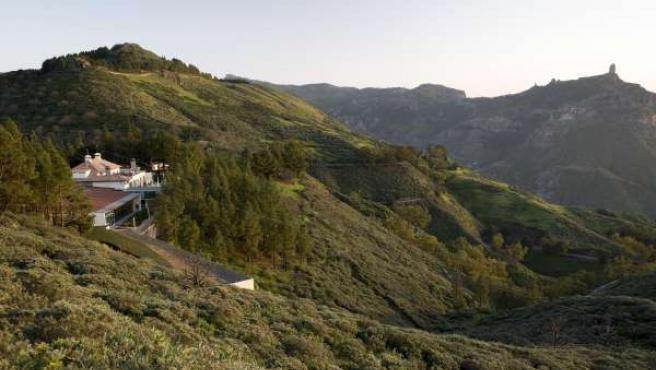 Vistas del Parador de Tejeda (Gran Canaria)