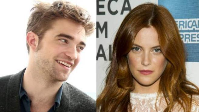 Robert Pattinson y Riley Keough.