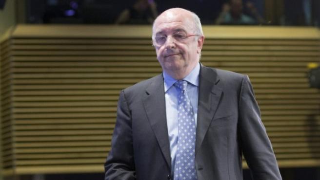 El comisario europeo de la Competencia, Joaquín Almunia.