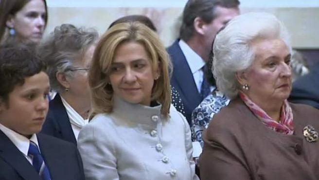 Infanta Cristina.