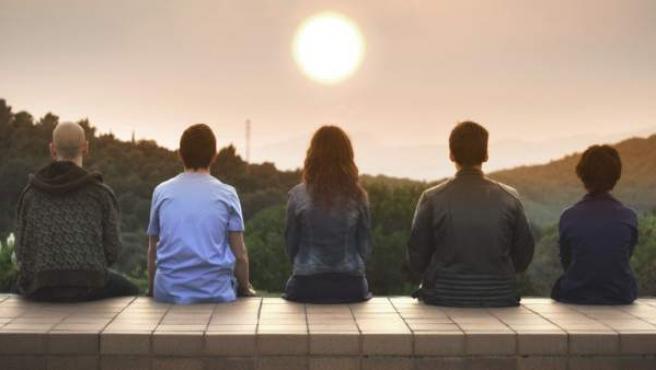 Imagen de la segunda temporada de 'Pulseras Rojas'.