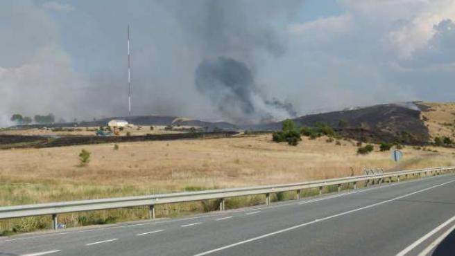 Incendio en Tornadizos