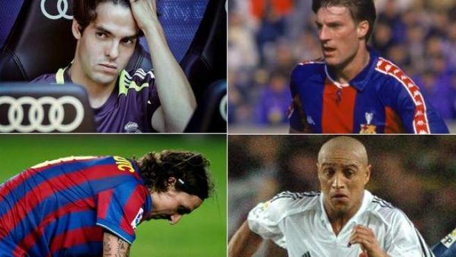 Kaká, Ibrahimovic, Denilson, Laudrup, Roberto Carlos y Mata, fracasos y chollos.
