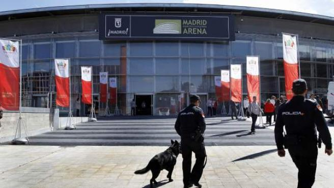 El Madrid Arena.