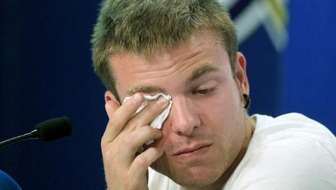 Asier Illarramendi, con lágrimas en su despedida de la Real Sociedad.