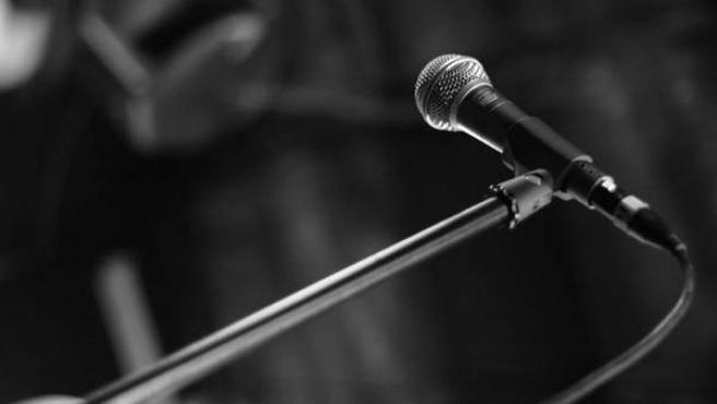 Imagen de un micrófono.