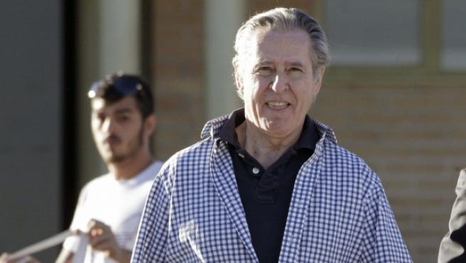 Miguel Blesa, tras salir de prisión.
