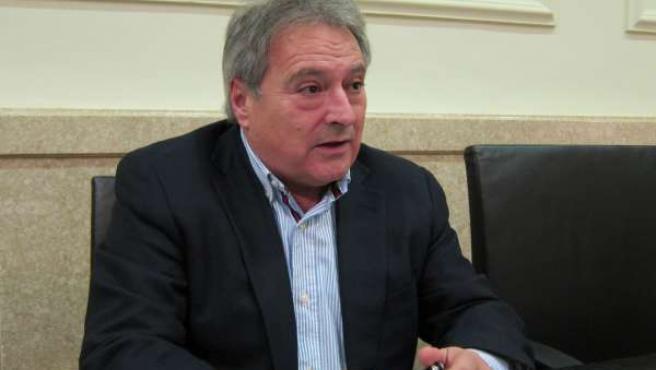 Alfonso Rus durante la entrevista con Europa Press