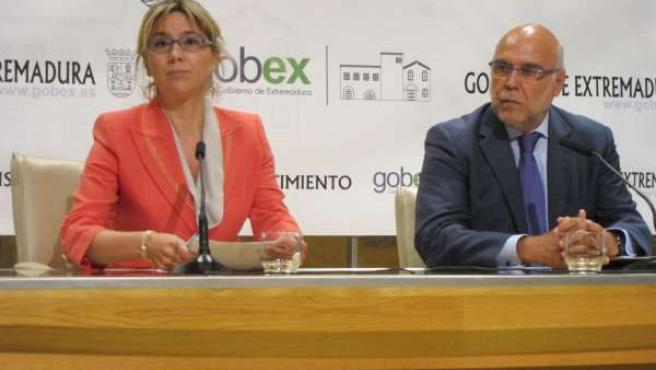 Cristina Teniente y José Antonio Echávarri