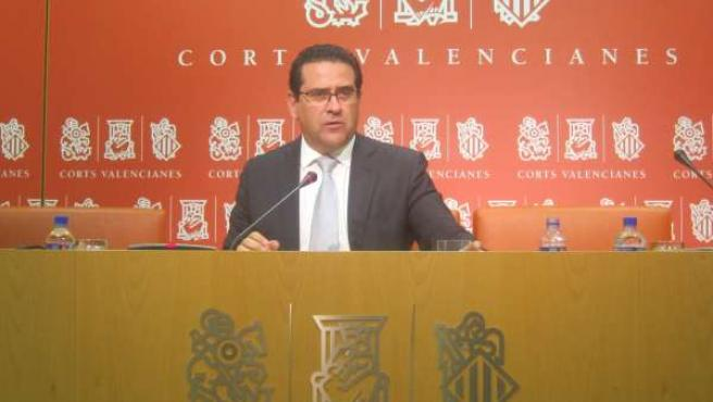 Jorge Bellver, portavoz PP