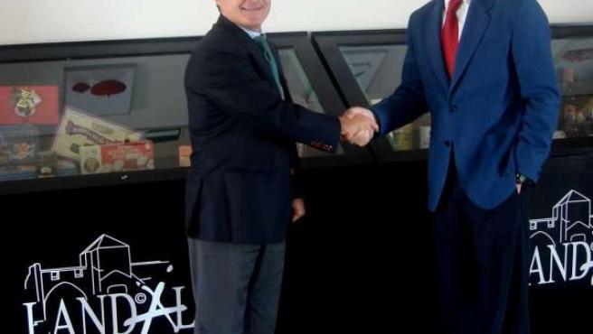 Acuerdo CaixaBank y Landaluz