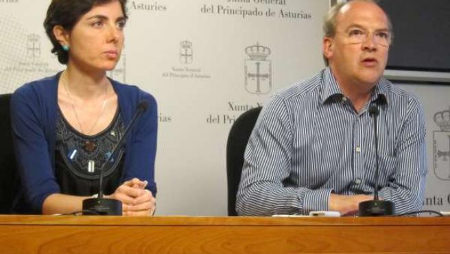 Diputados del PP Emma Ramos y José Agustín Cuervas-Mons