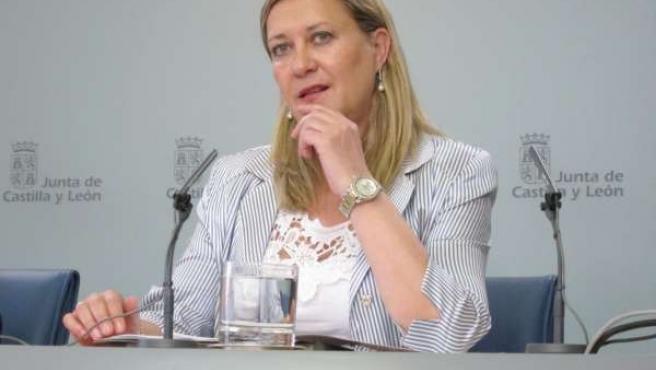 La consejería de Hacienda, Pilar del Olmo