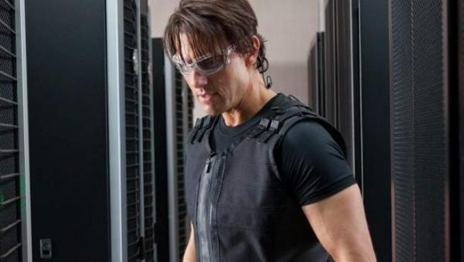 Tom Cruise, en la película 'Misión Imposible'