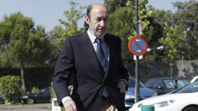 El líder del PSOE, Alfredo Pérez Rubalcaba.