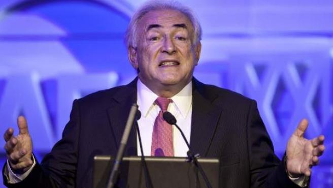 El exdirector del FMI Dominique Strauss-Kahn, en una imagen de archivo.