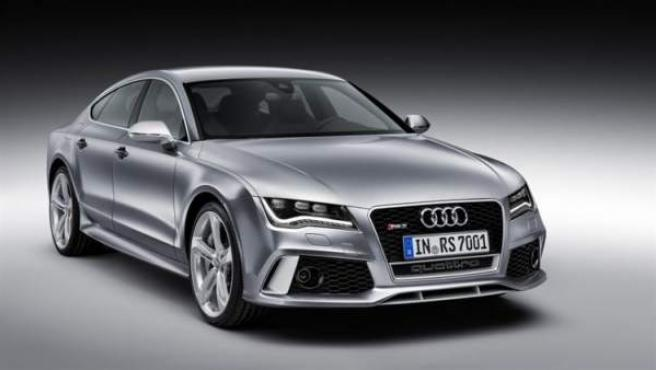 El nuevo Audi RS 7 Sportback consume 9,8 litros a los cien kilómetros en ciclo mixto.