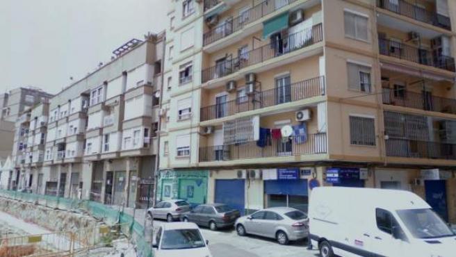 Calle Filólogo Sanelo en Valencia.