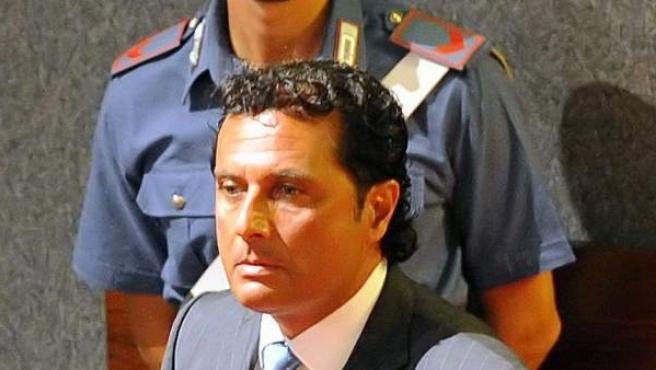 Primera audiencia del juicio contra Francesco Schettino por el naufragio del Costa Concordia