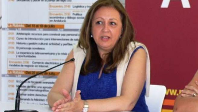 Directora del Patronato de la Alhambra y el Generalife, Mar Villafranca